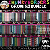 Chunky Borders Clipart Growing Bundle {Borders Clipart}