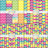 Chunky Chevron Bundle- Designer Pack (68 papers)