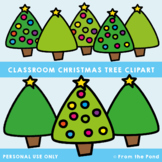 Christmas Trees - FREE Fat Line Clipart From the Pond