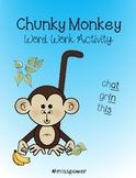 Chunky Monkey Activity Sheet