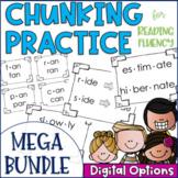 Chunky Monkey Chunking Practice- Long & Short Vowel & Multisyllabic Word BUNDLE