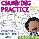 Chunky Monkey Chunking Practice Multisyllablic Word Edition