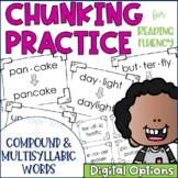 Chunky Monkey Chunking Practice Multisyllablic Word Edition