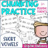 Chunky Monkey Chunking Practice Short Vowel Edition