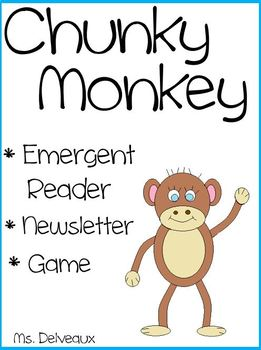 Chunky Monkey Emergent Reader
