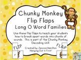 Chunky Monkey Flip Flaps - Long O Word Families