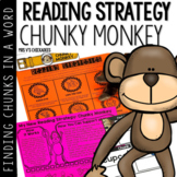 Chunky Monkey Reading Strategy: Finding Chunks in Words