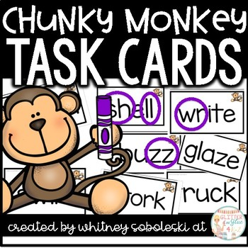 Chunky Monkey Task Cards