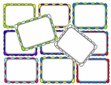 Chunky Multi-Color Scallop Borders