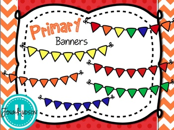 Chunky Primary Banners
