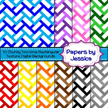 Digital Papers - Chunky Two-Tone Rectangular Texture