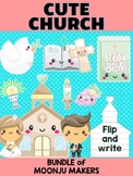 Church & Bible Friends - Bundle of Moonju Makers, Craft, Decor, Writing Activity