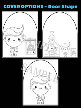 Church Boy & Bible- Moonju Makers, Activity, Craft, Decor, Catholic, Christian