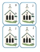 Church Capital Alphabet Clip Cards