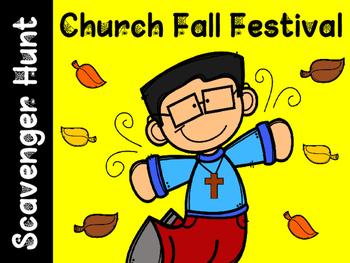 Church Fall Festival Scavenger Hunt