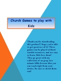 Church Games to Play with Kids