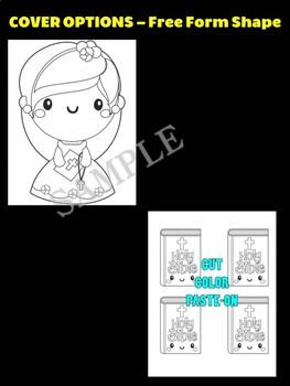 Church Girl & Bible- Moonju Makers, Activity, Craft, Decor, Catholic, Christian