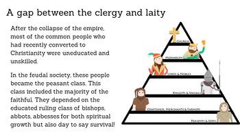 Church History 313-800 A.D. Freedom to Feudalism