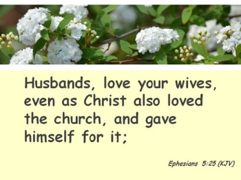 Church Set - Ephesians 5:25