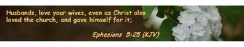 Church Set - Ephesians 5:25