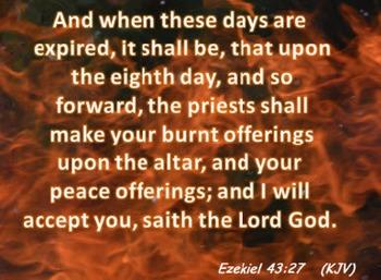 Church Set - Ezekiel  43:27