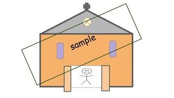 Church Template to Personalize   Prek K  1st 2nd Homeschool