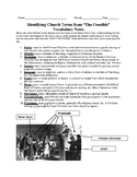 Church Terms for The Crucible
