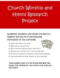 Church Worship and Hymns Research Project