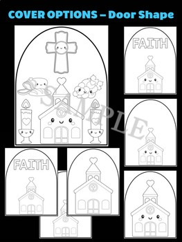 Church and Elements - Moonju Makers, Activity, Craft, Decor, Catholic, Christian