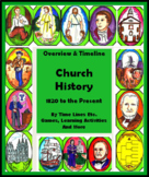 Church of Jesus Christ of Latter-day Saints History Timeline by Time Lines Etc.
