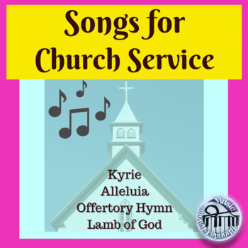 Church service music