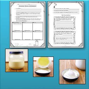 Churning Butter & Whipping Cream Science Experiments