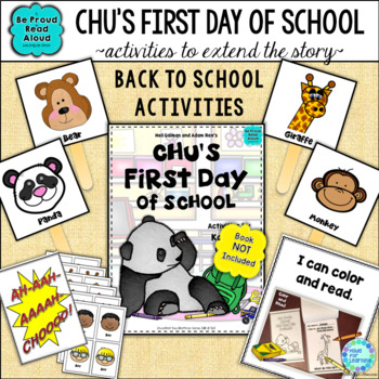 Read Aloud Activities | Chu's First Day of School