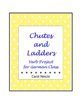 Chutes And Ladders Verb * Project For German Class