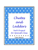 Chutes And Ladders Verb * Project For Spanish Class