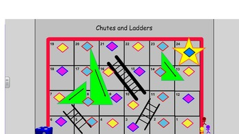 Chutes and Ladder Review Game