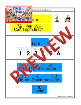 Chutes and Ladders {Board Game Visual}