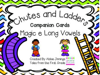 Chutes and Ladders- Long Vowel Magic e