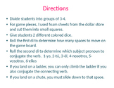 Chutes and Ladders PowerPoint Template