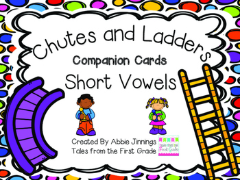 Chutes and Ladders- Short Vowels
