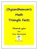 Chysanthemum Math Triangle Facts