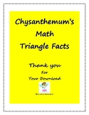 Chysanthemum Math Workpages