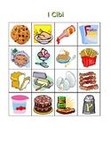 Cibi (Food in Italian) Bingo