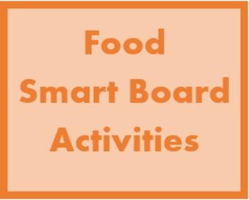 Cibi (Food in Italian) Smartboard Activities