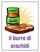 Cibi (Food in Italian) Posters