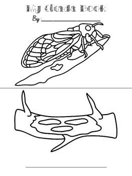 Cicadas Activity Pack
