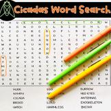 Cicadas Word Search