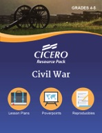 Cicero Resource Pack Civil War Grades 4-5