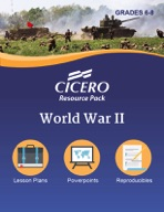 Cicero Resource Pack World War II Grades 6-8