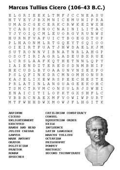 Cicero Word Search